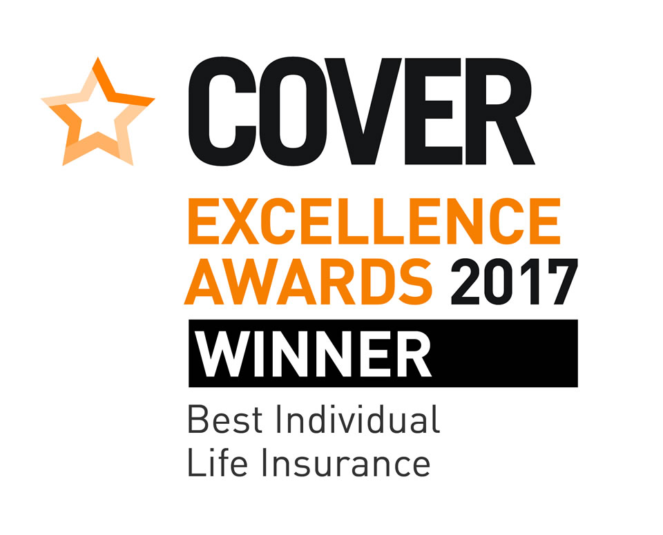 Cover excellence awards 2017 - Best Individual Life Insurance Winner