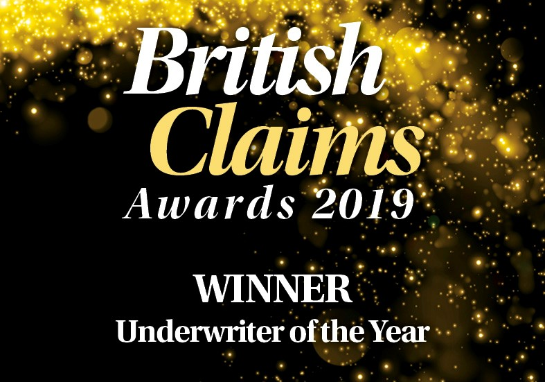 British Claims Awards 2019 - Aegon Underwriter of the Year