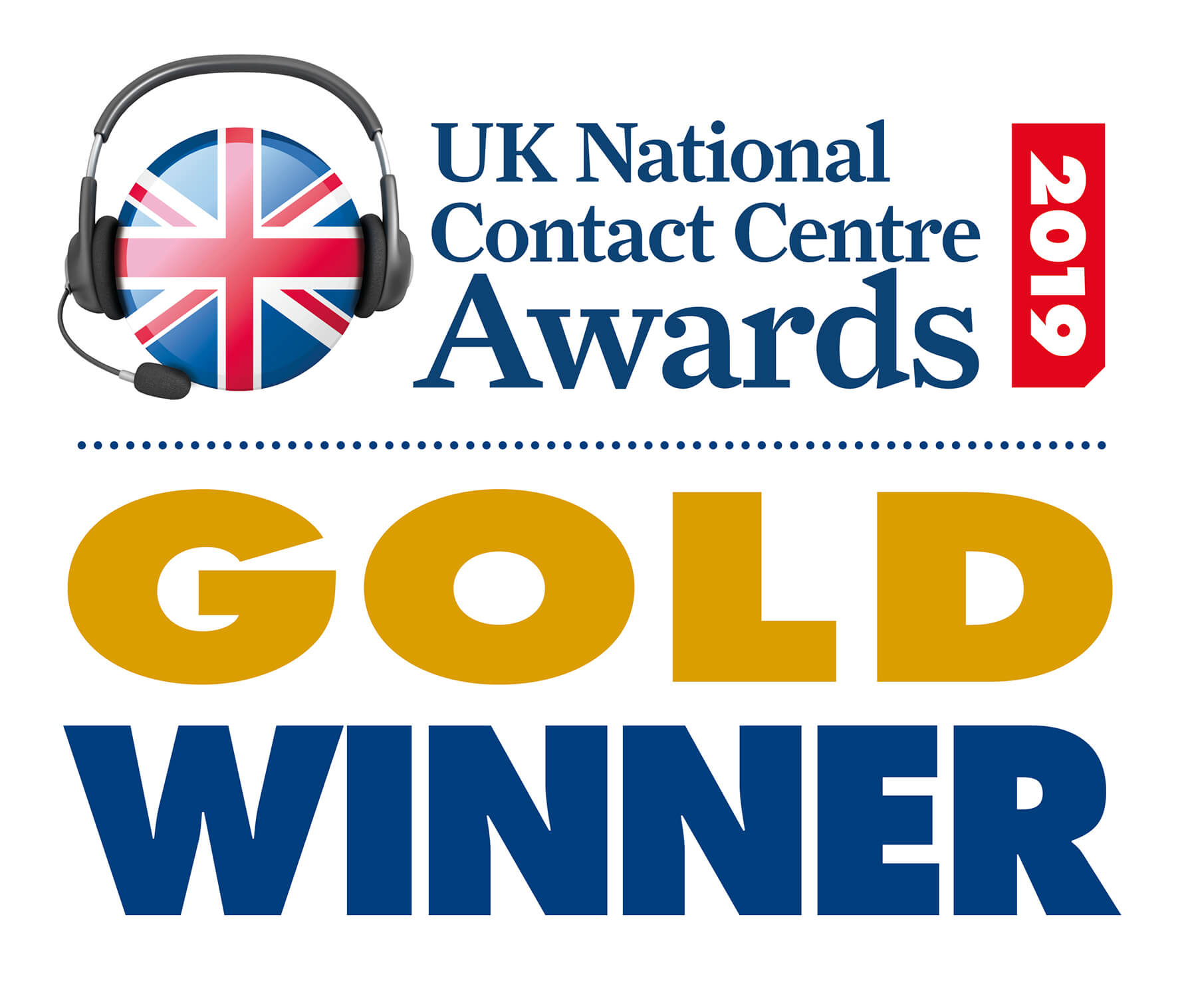 UK National Contact Centre Awards 2019 - Aegon Gold Winner