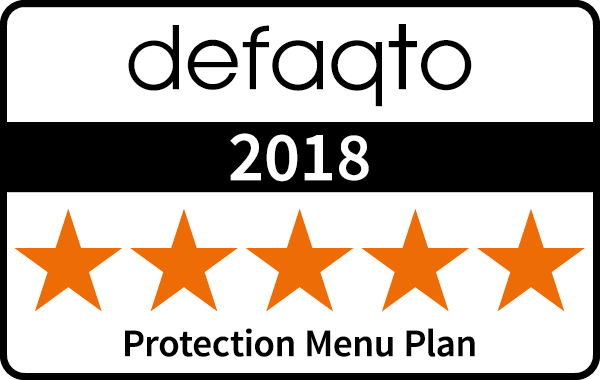 Defaqto 2018 - Protection Menu Plan